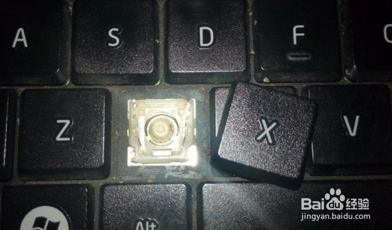 t420笔记本键盘按键怎么拆