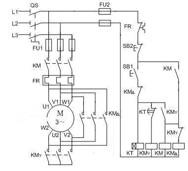 用PLC改造三相电动机降压开启控制电路编写程序咋编图片